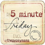 {Five Minute Friday}: Delight