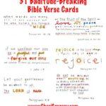 31 Bible Verse Cards