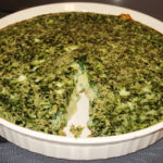 "Cheri's ""Healthy"" Spinach Quiche"