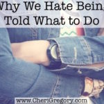 Why We Hate Being Told What to Do
