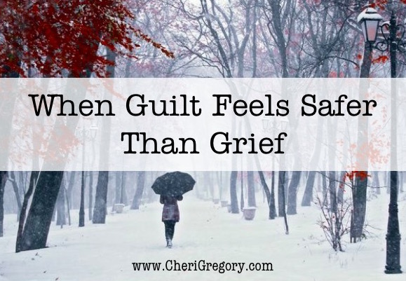 When Guilt Feels Safer Than Grief