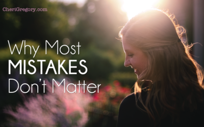 Why Most Mistakes Don't Matter
