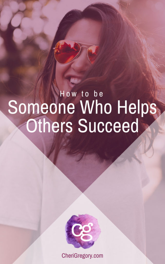 How to be someone who helps others succeed - team success