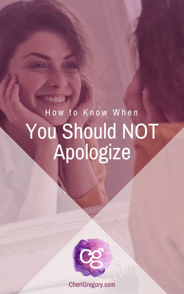 How to Know When You Should Not Apologize — trying to please everyone